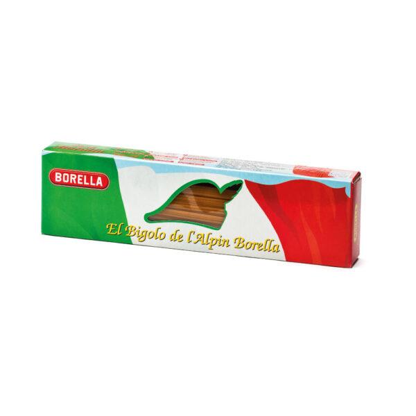Bigoli de Bassan corti in astuccio tricolore 0,5kg Pasta Borella