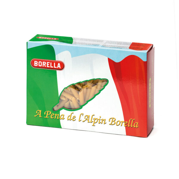 Pene de Bassan in astuccio tricolore Pasta Borella