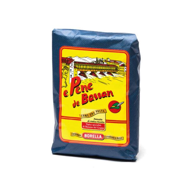 e Pene de Bassan incartate a mano Pasta Borella