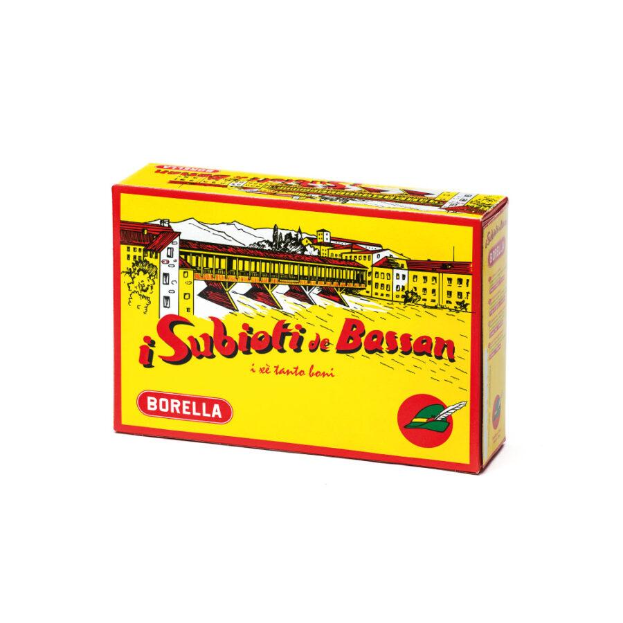 i Subioti de Bassan in astuccio tradizionale Pasta Borella