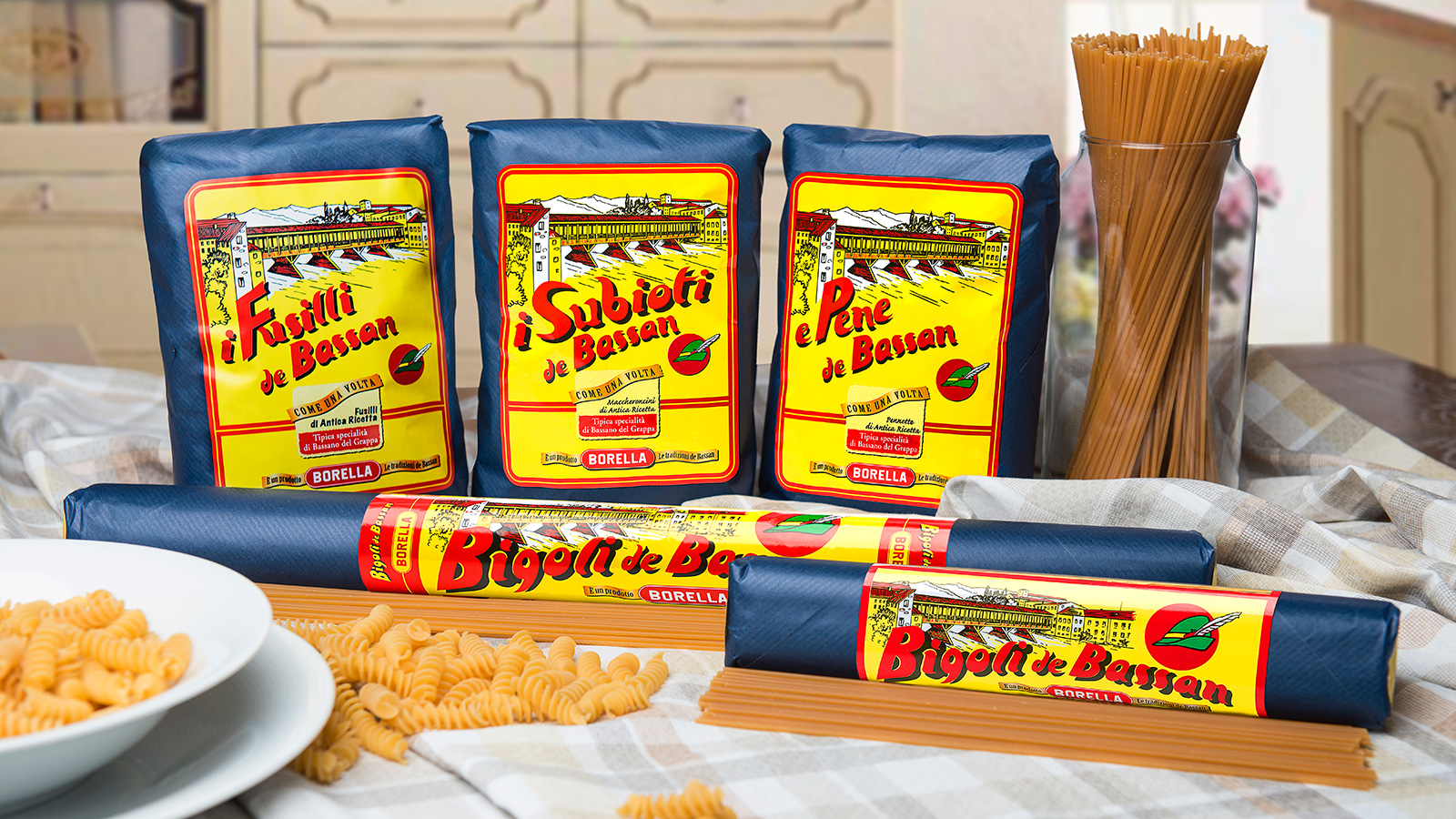 pasta borella bigoli de bassan incartati